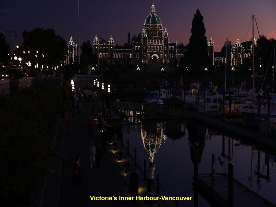 Parlament ve Victorii- Vancouver