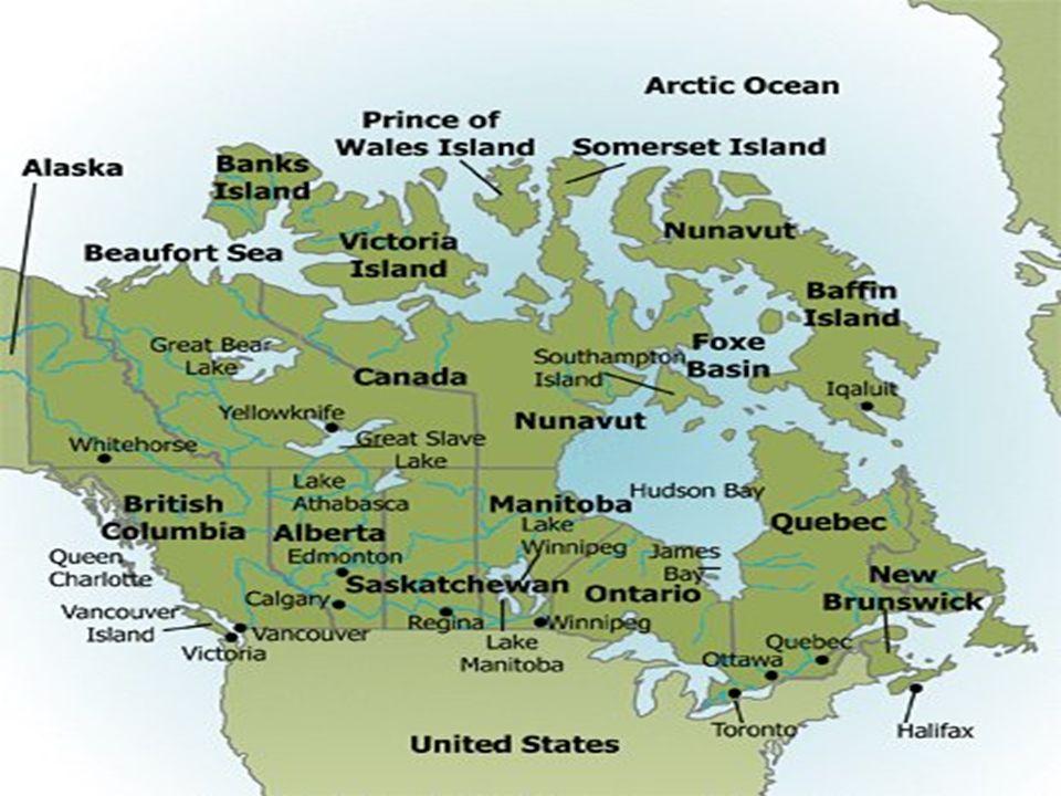Canada Region: Severní Amerika Rozloha: 9,984,670 km2 Oceány: Atlantický, Pacifický a Severní ledový oceán Hlavní město: Ottawa Hudba:Loreena McKennit