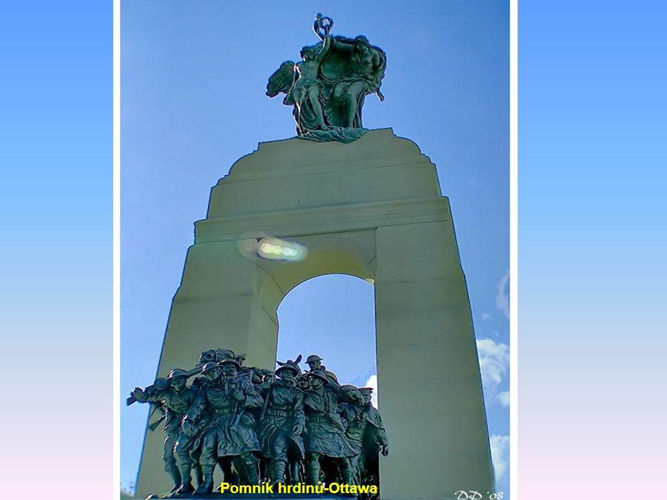 Pomník hrdinů-Ottawa