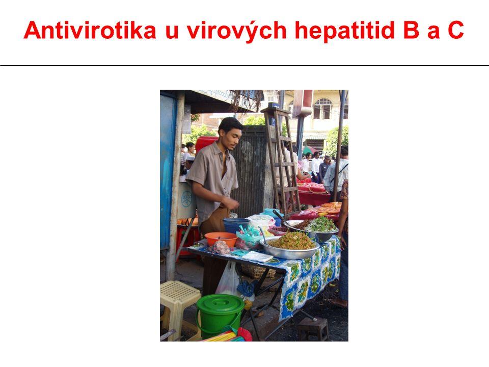 Antivirotika u virových hepatitid B a C
