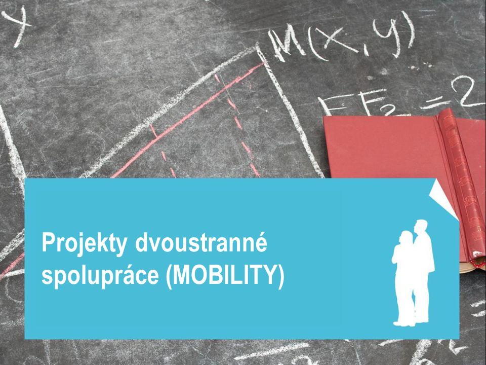 Projekty dvoustranné spolupráce (MOBILITY)