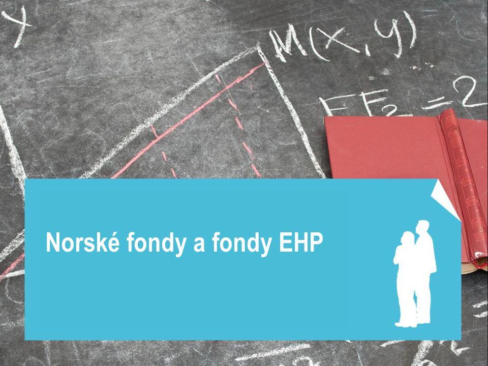 Norské fondy a fondy EHP