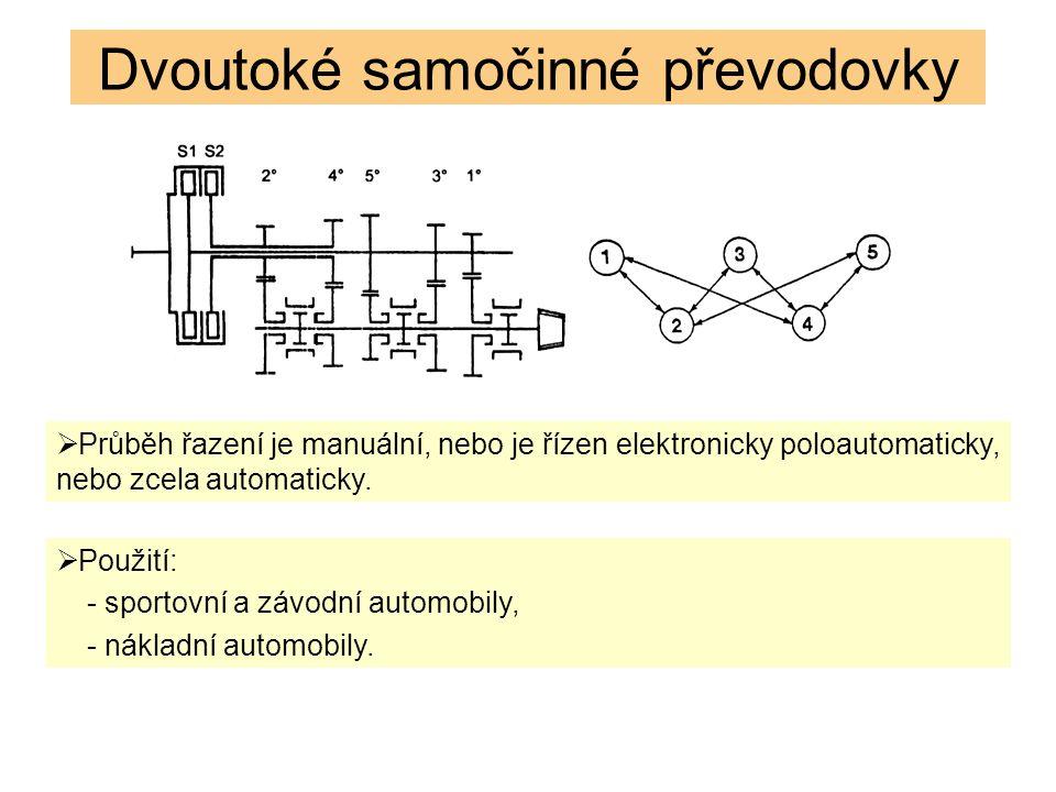  Průběh řazení je manuální, nebo je řízen elektronicky poloautomaticky, nebo zcela automaticky.