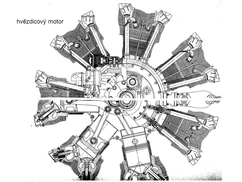 hvězdicový motor