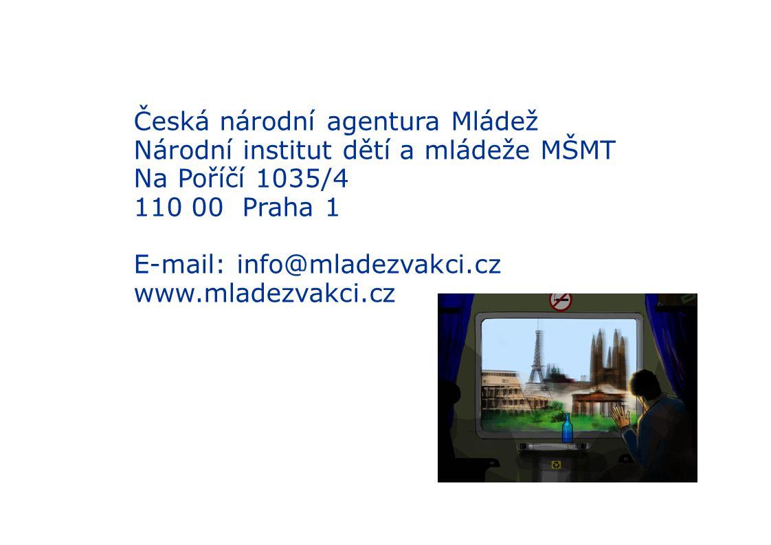 Zajímavé odkazy http://www.youtube.com/watch?v=VE0mRmTRbfY (videoklip o YiA)2,54´ http://www.youtube.com/watch?v=VE0mRmTRbfY http://www.youtube.com/watch?v=89jfiRWqX7A&feature=related (klip Grandmother) http://www.youtube.com/watch?v=89jfiRWqX7A&feature=related http://www.youtube.com/watch?v=53dQ257Q_1w&feature=related (klip o YoM) http://www.youtube.com/watch?v=53dQ257Q_1w&feature=related http://www.youtube.com/watch?v=iuBdS1ujVIg&NR=1 (video o partnership building)5,17´ http://www.youtube.com/watch?v=iuBdS1ujVIg&NR=1 http://www.youtube.com/watch?v=8LDHVmMH84g (slide show - kurz pro kouče) http://www.youtube.com/watch?v=8LDHVmMH84g http://www.youtube.com/user/sailorsliberec (reportáž Sailors on the Citizen ship) http://www.youtube.com/user/sailorsliberec http://www.youtube.com/watch?v=2e1HVEOyXfc&feature=related (Hodina H) http://www.youtube.com/watch?v=2e1HVEOyXfc&feature=related http://www.youtube.com/watch?v=ys1l0hVDjRE&feature=fvsr (Together CR) http://www.youtube.com/watch?v=ys1l0hVDjRE&feature=fvsr http://www.youtube.com/watch?v=nX14sA-dX_w (slideshow o EVS) 2,52´ http://www.youtube.com/watch?v=nX14sA-dX_w http://www.youtube.com/watch?v=ho4zoPYHtbg&feature=related (klip o EVS) 5, 52´ http://www.youtube.com/watch?v=ho4zoPYHtbg&feature=related