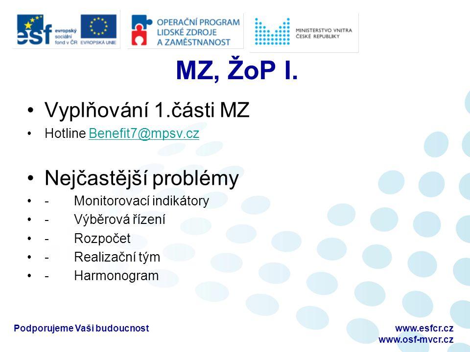 MZ, ŽoP I.