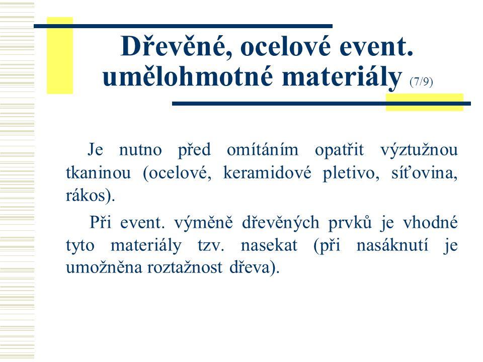 Zdivo betonové (6/9) Pro omítání event.