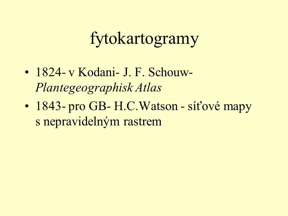 fytokartogramy 1824- v Kodani- J. F.