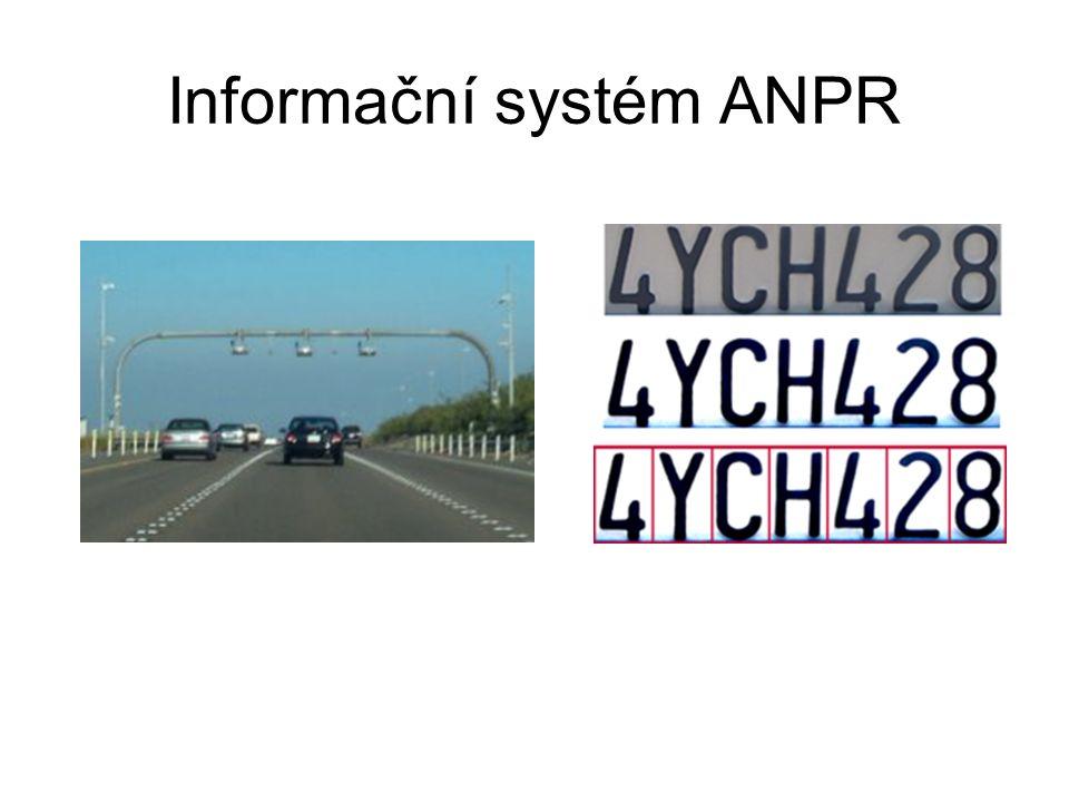 Informační systém ANPR