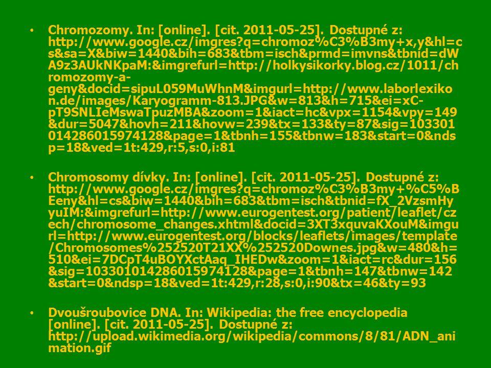 Chromozomy. In: [online]. [cit. 2011-05-25].