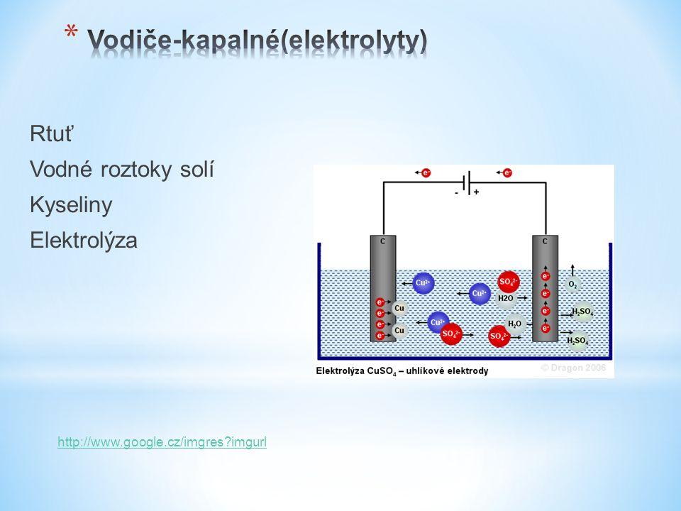 Termoplasty NázevZkratka PolyetylénPE PolypropylénPP PolyamidPA PolytetrafluoretylénPTFE PolystyrolPS PolyvynilchloridPVC PolymetylmetakrylátPMMAS PolykarbonátPC Polyvinylchlorid (PVC) se používá na opláštění vodičů a kabelů.