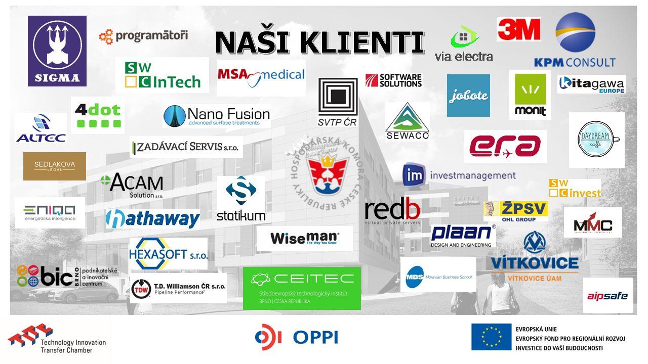 V čem spočívá podpora jihomoravských VTP pro MSP: Inkubační zázemí pro začínající firmy (VTP Brno – TITC - 200 m 2, VTP Biology Park Brno – 200 m 2 ) SPIN OFF z VUT Brno, MU a Mendelu TT (transfer technologií) s VUT Brno, MU a MENDELU a další Příklad: vyvinutý preparát SELENBACT nahrazující antibiotika v mastech pro hospodářská a malá zvířata (nanoselen), spoluautor Prof.