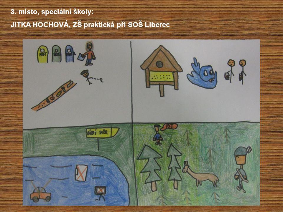 3. místo, speciální školy: JITKA HOCHOVÁ, ZŠ praktická při SOŠ Liberec