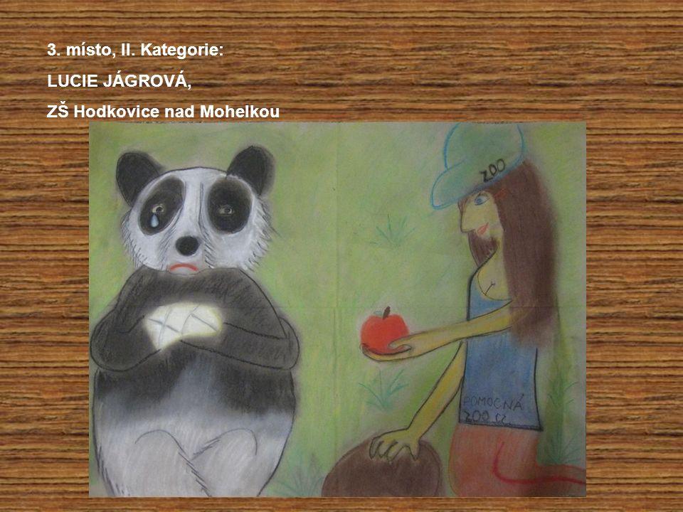 3. místo, II. Kategorie: LUCIE JÁGROVÁ, ZŠ Hodkovice nad Mohelkou