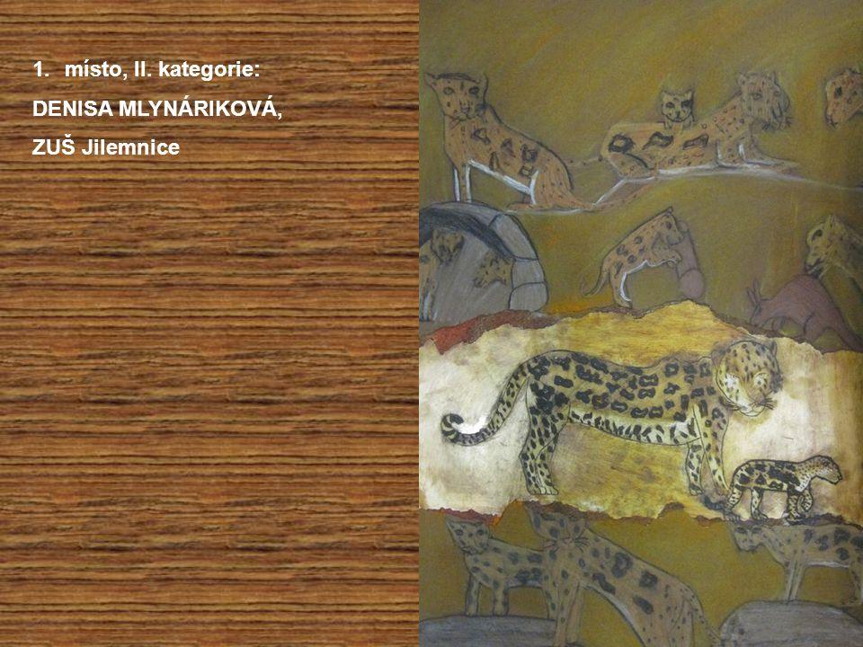 1.místo, II. kategorie: DENISA MLYNÁRIKOVÁ, ZUŠ Jilemnice