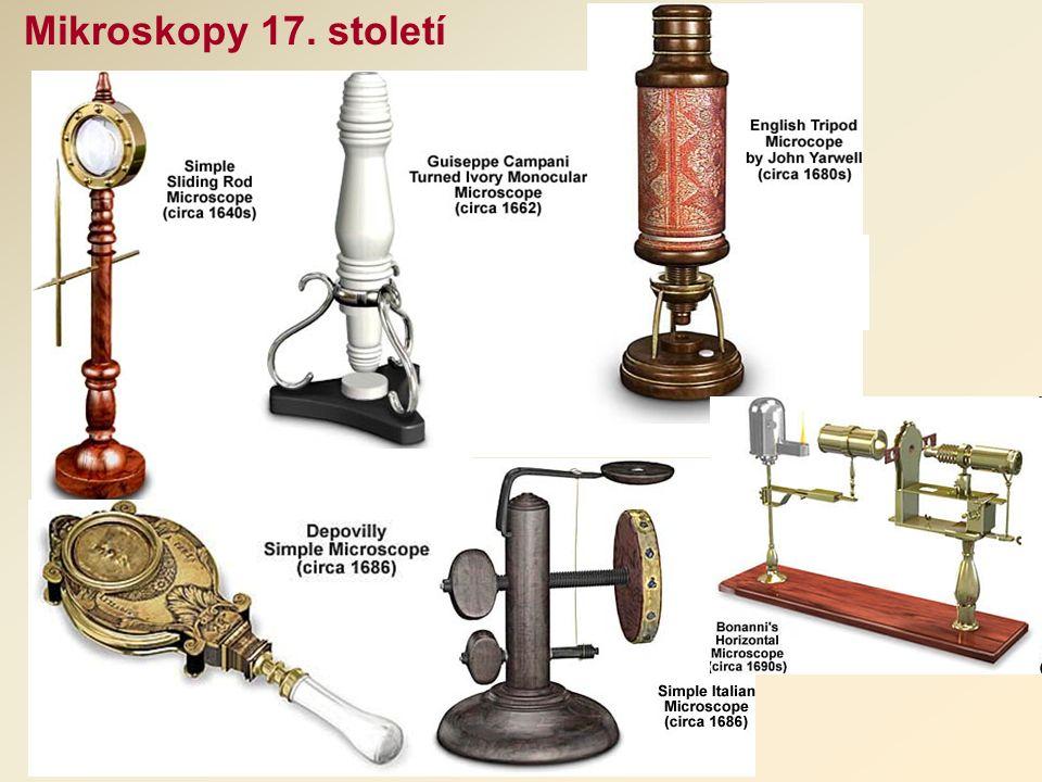 Mikroskopy 17. století