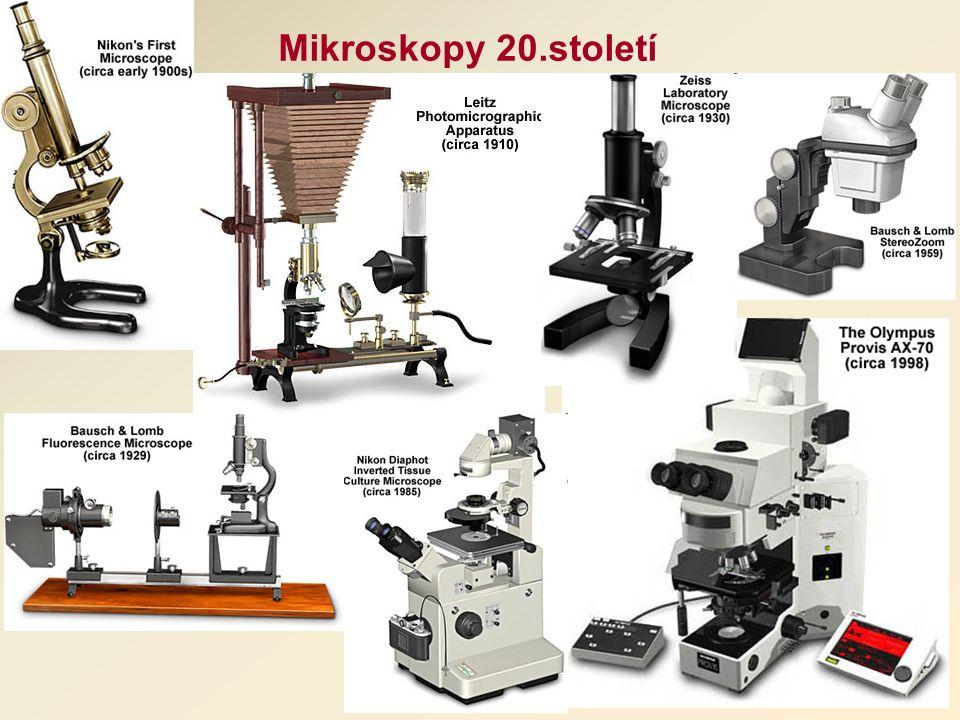 Mikroskopy 20.století