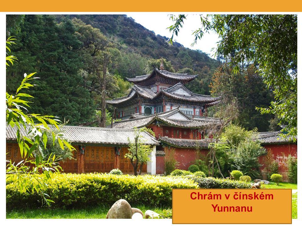Chrám v čínském Yunnanu