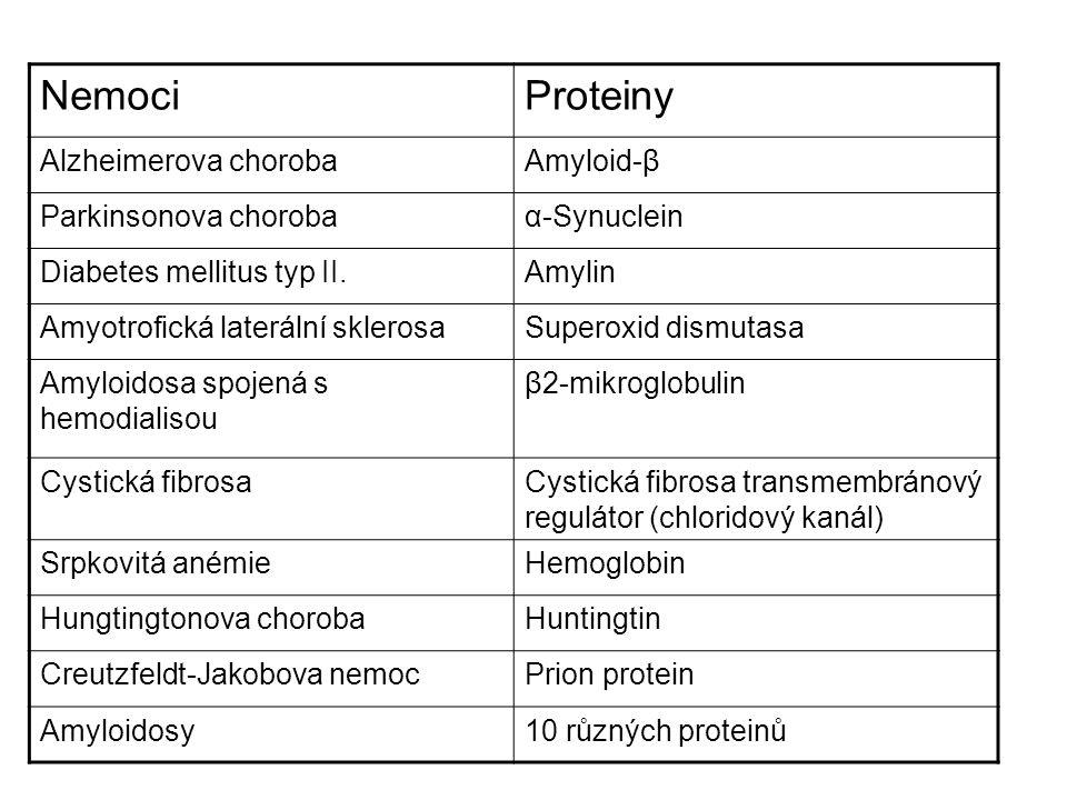 Konformační hypotesa Polymerizační hypotesa Konformačně-oligomerizační hypotesa