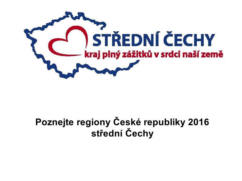 Poznejte regiony České republiky 2016 střední Čechy