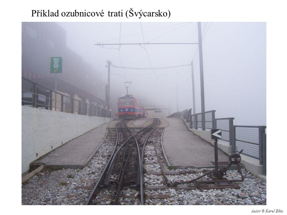 Příklad ozubnicové trati (Švýcarsko) Autor © Karel Zíka