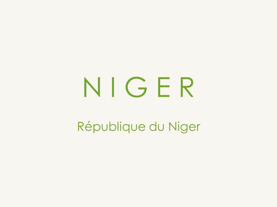 N I G E R République du Niger