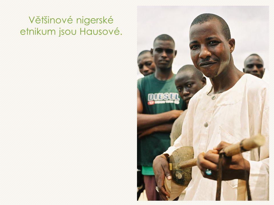 Většinové nigerské etnikum jsou Hausové.