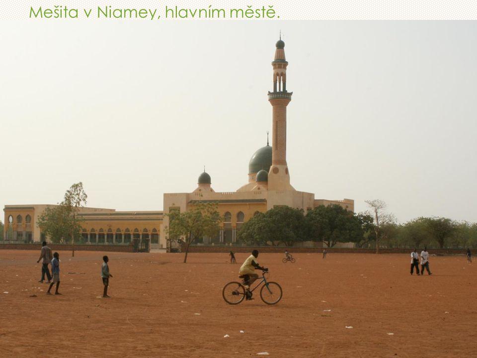 Mešita v Niamey, hlavním městě.