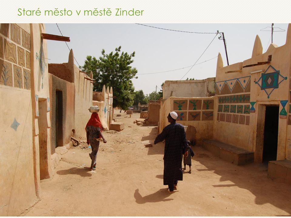 Staré město v městě Zinder