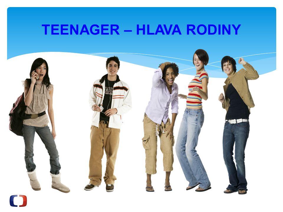 TEENAGER – HLAVA RODINY