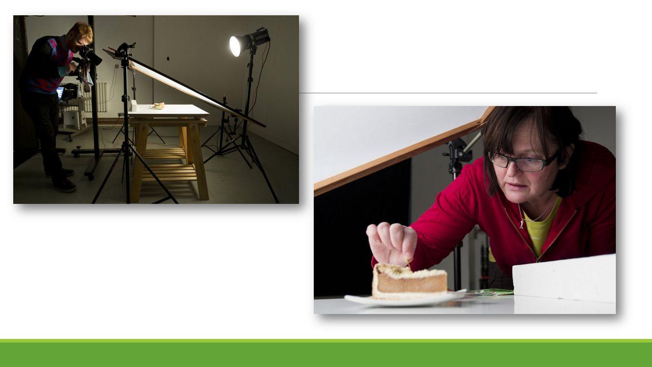1.Světlo - Jídlu sluší bílé, denní světlo.