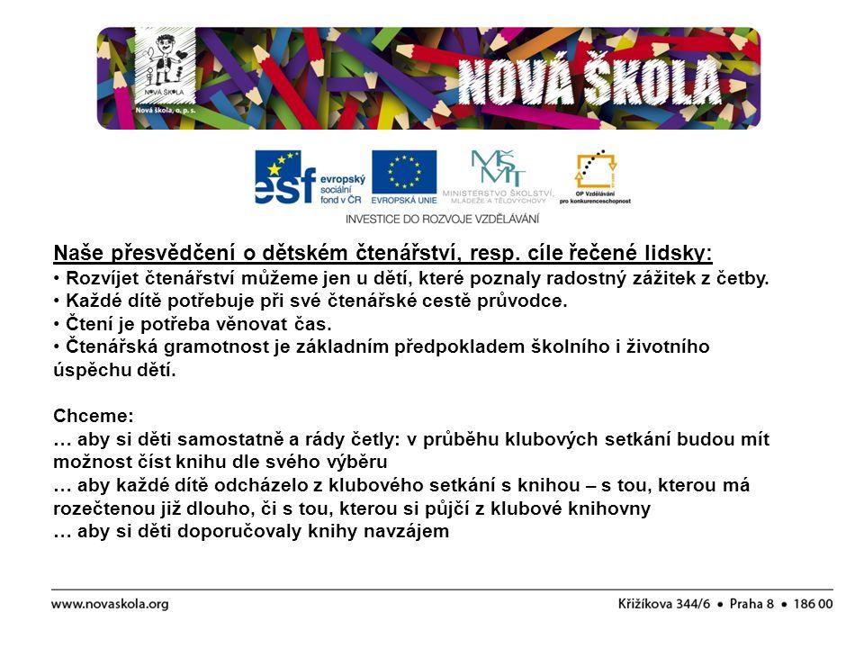 Kritické myšlení, o.s., ZŠ U Soudu - Liberec KVK Liberec 5.
