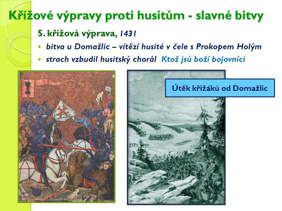 Křížové výpravy proti husitům - slavné bitvy 5.