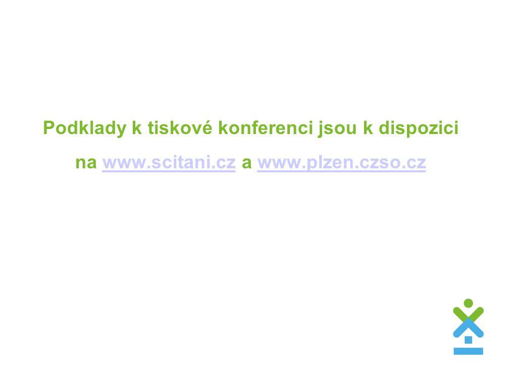Podklady k tiskové konferenci jsou k dispozici na www.scitani.cz a www.plzen.czso.czwww.scitani.czwww.plzen.czso.cz