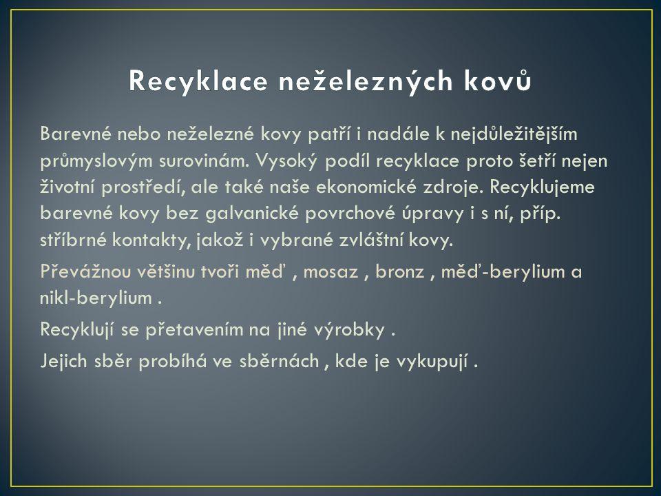 - je proces renovace zbytkových nebo odpadních plastů a zařazení materiálu do užitečních produktů, někdy úplně odlišných ve formě od jejich původního stavu.