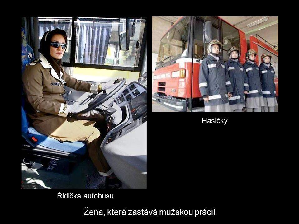 Vítěz Nobelovy ceny míruŠampión íránské automobilové rally Žena, která obsazuje novinové titulky!