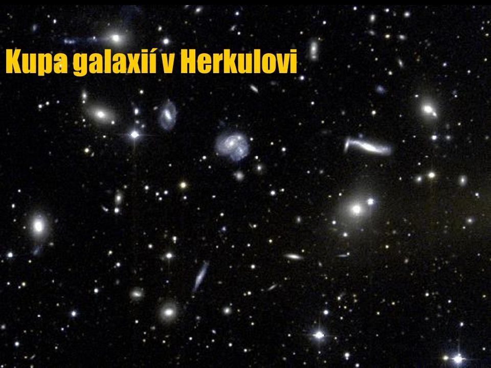 Kupa galaxií v Herkulovi