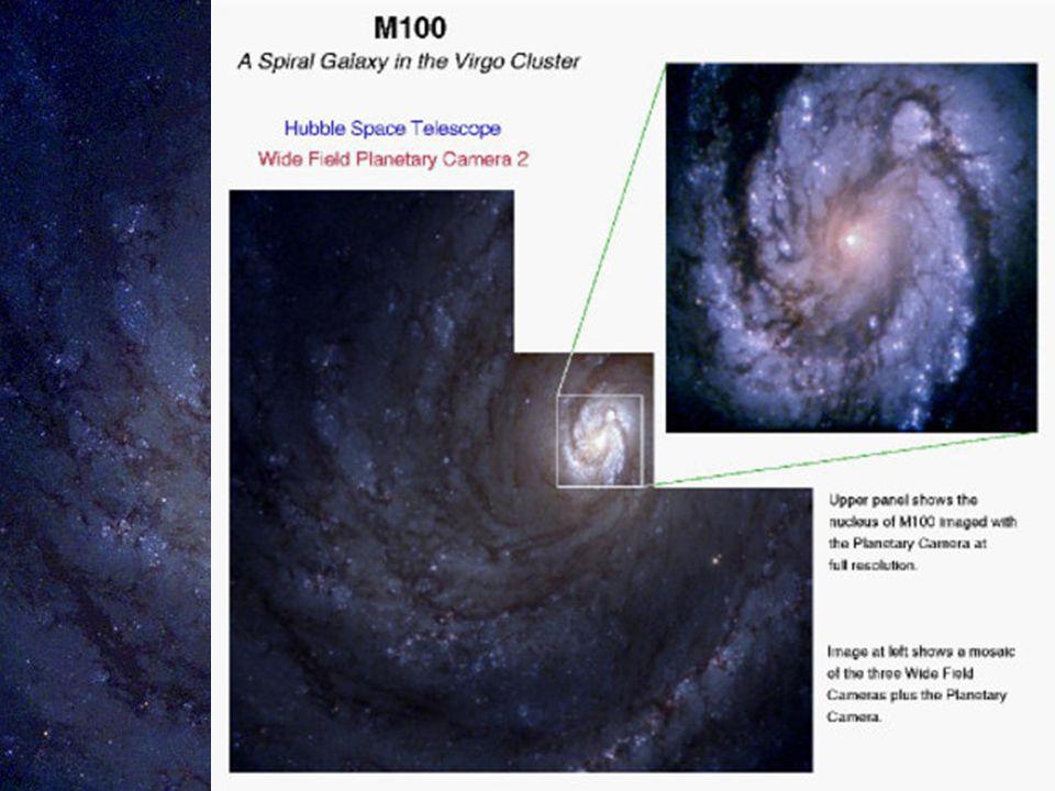 u u v souhvězdí Vlasy Bereniky u u vzdálenost: 60 000 000 světelných let u u typ Sc M100 (NGC 4321)