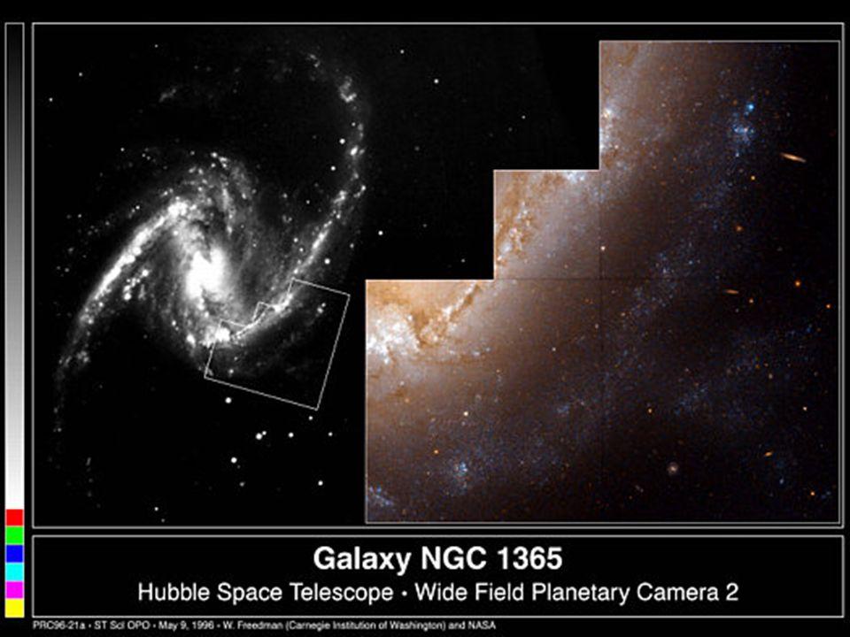 NGC 1365 z pohledu HST