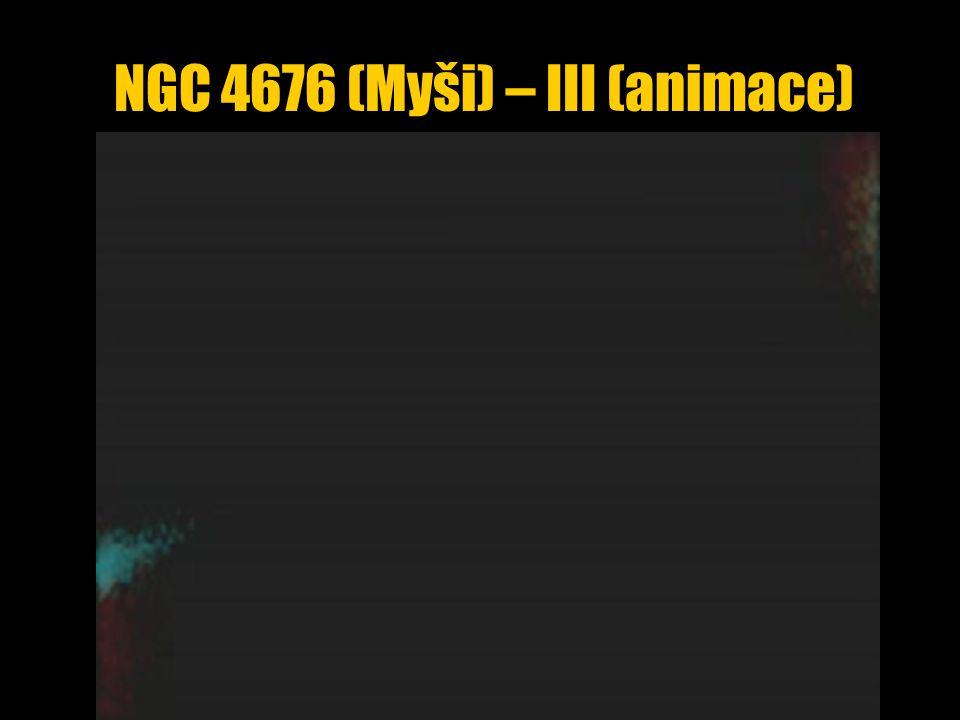 NGC 4676 (Myši) – III (animace)