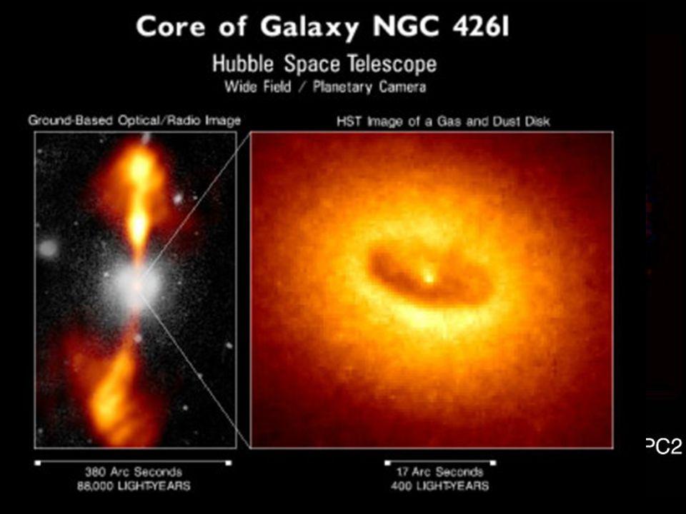 NGC 4261 u u v souhvězdí Panny u u vzdálenost: 100 000 000 světelných let