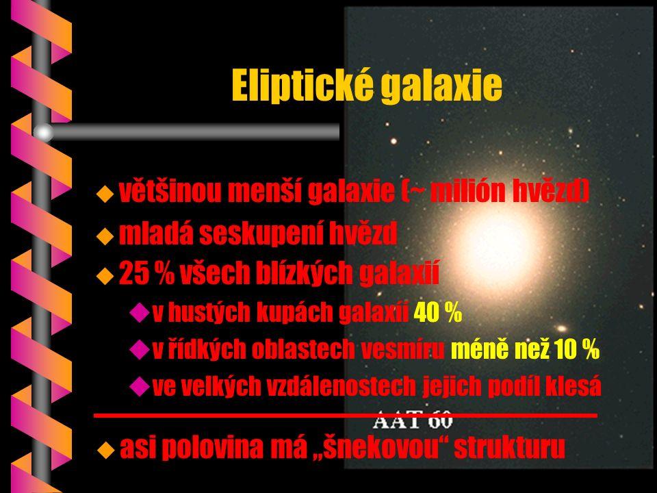 b 200 miliard hvězd Galaxie – spirální ramena