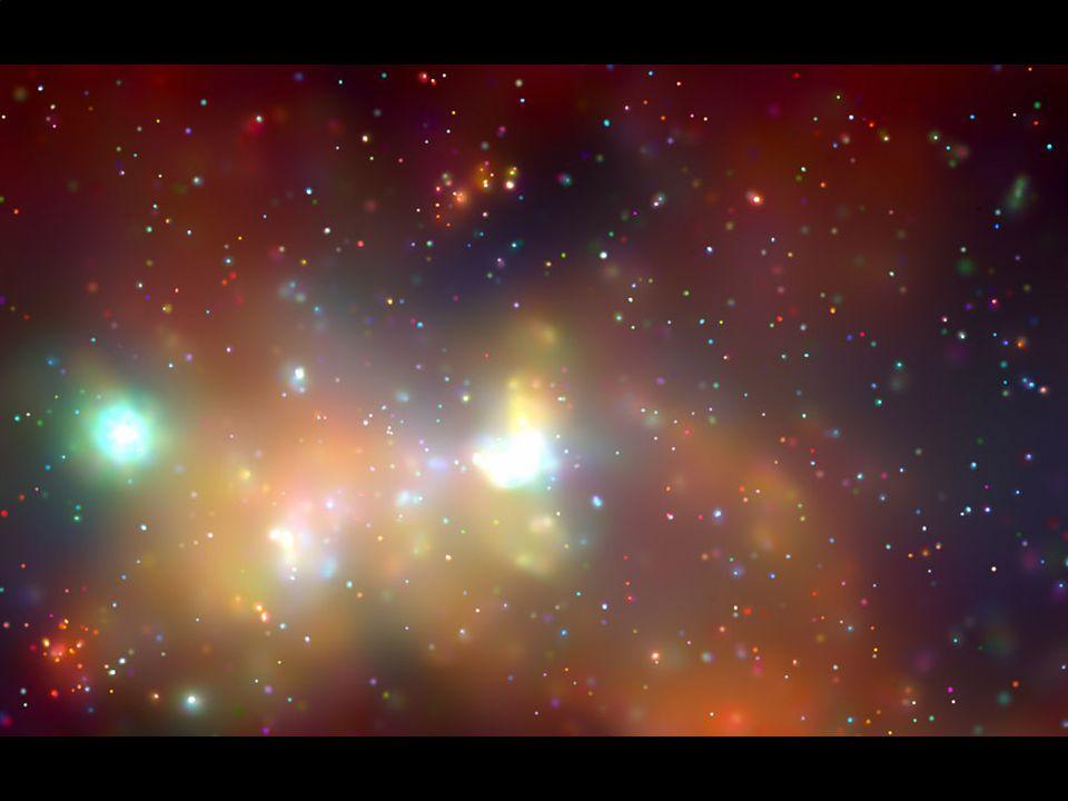 střed Galaxie střed Galaxie podle rentgenového dalekohledu Chandra