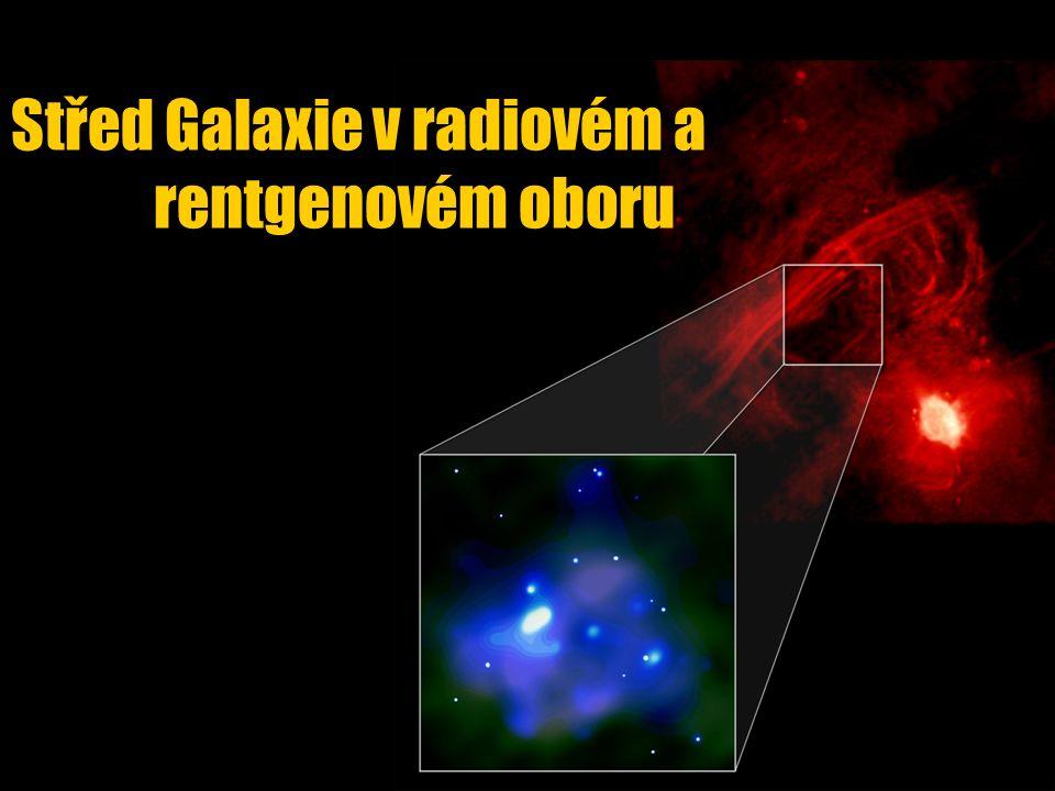Střed Galaxie v radiovém a rentgenovém oboru