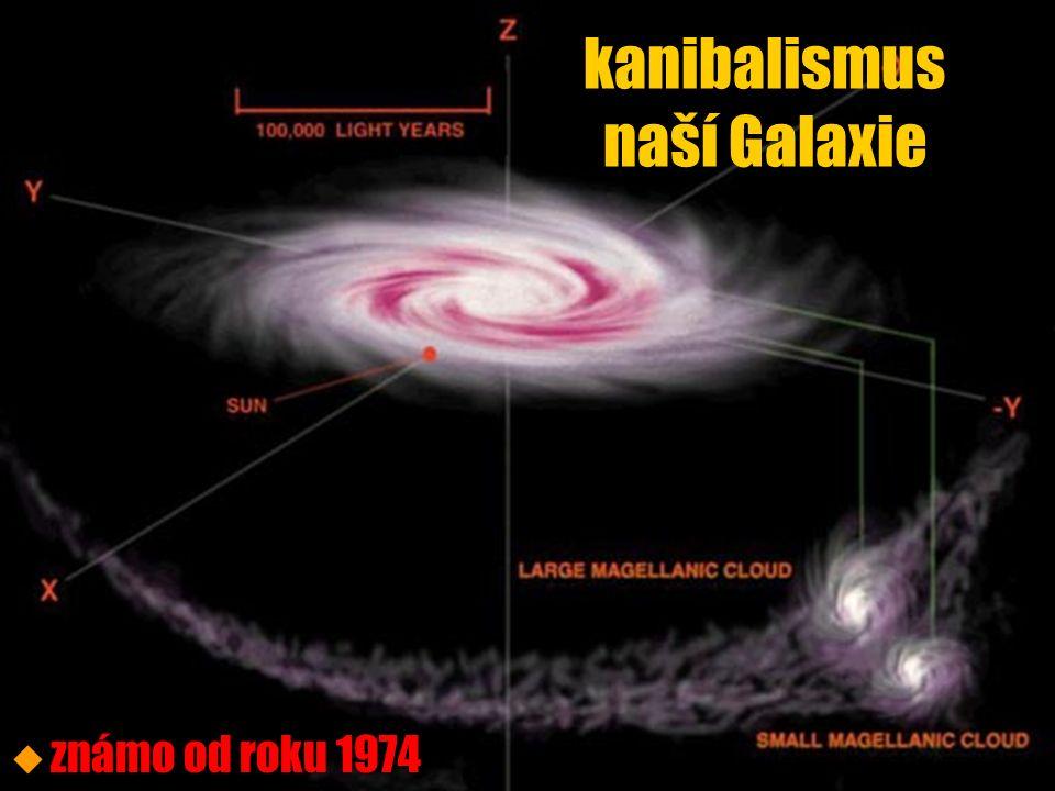 kanibalismus naší Galaxie u u známo od roku 1974