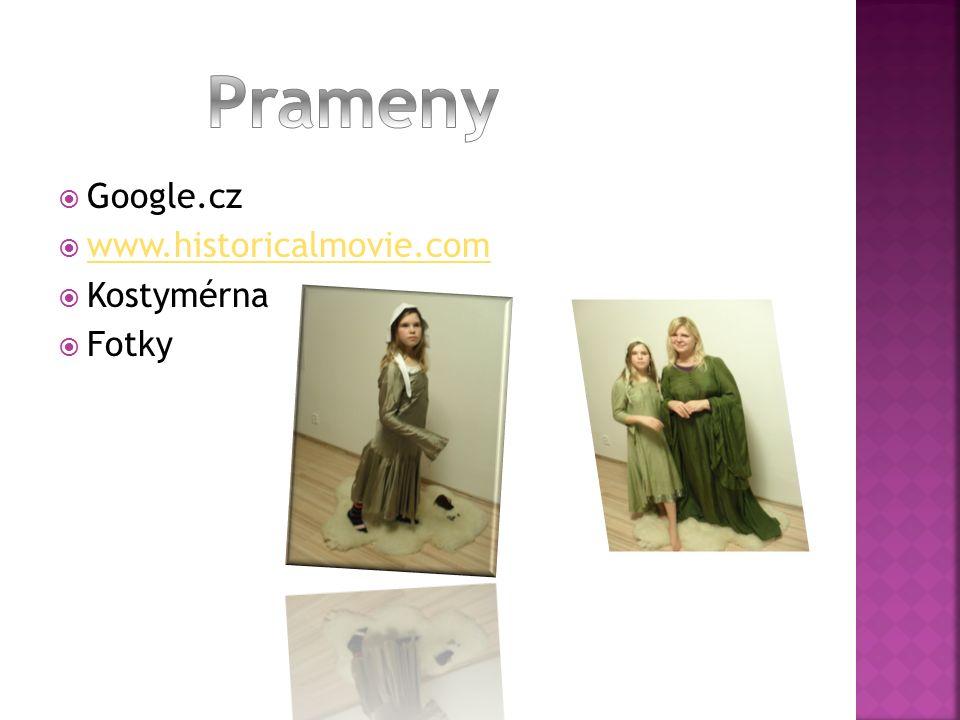  Google.cz  www.historicalmovie.com www.historicalmovie.com  Kostymérna  Fotky