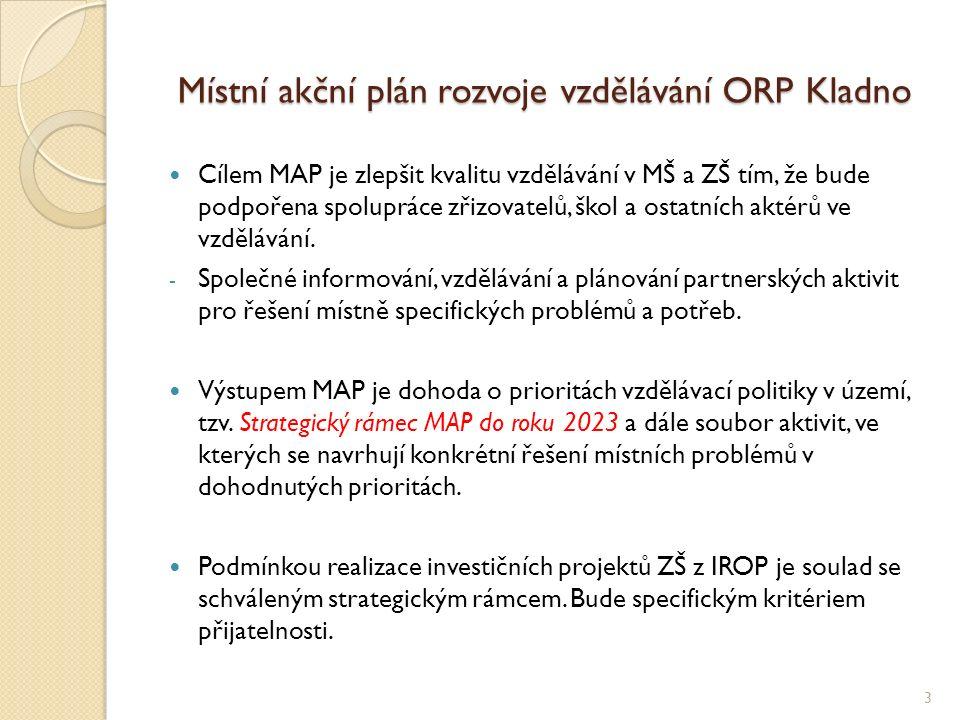 Rozdělení území pro řešení MAP 4