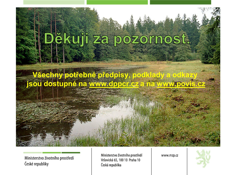 Všechny potřebné předpisy, podklady a odkazy jsou dostupné na www.dppcr.cz a na www.povis.cz