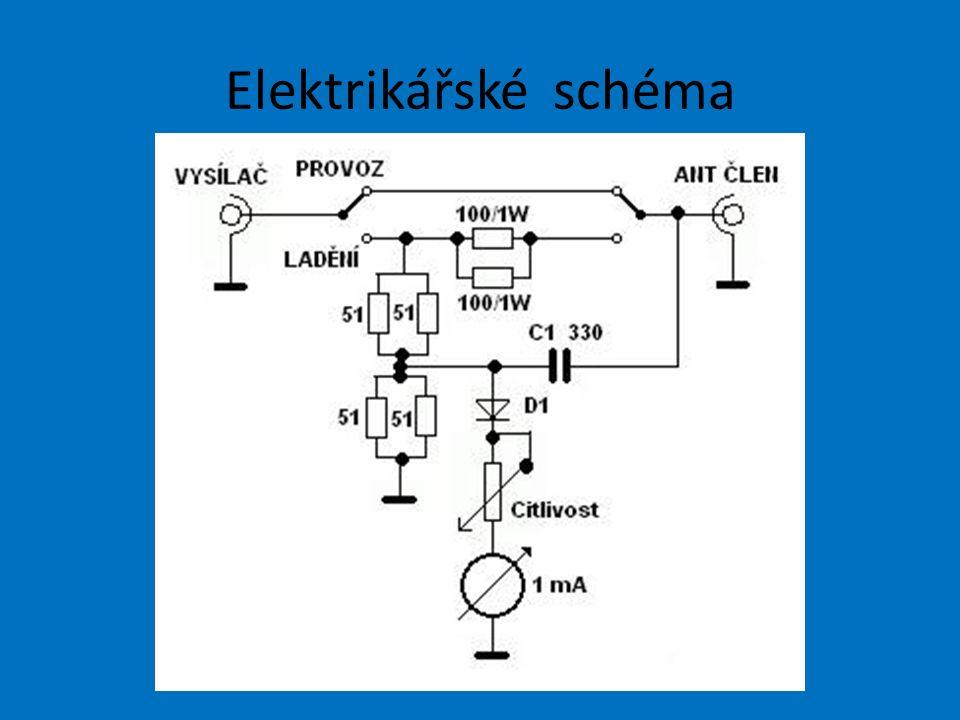 Elektrikářské schéma