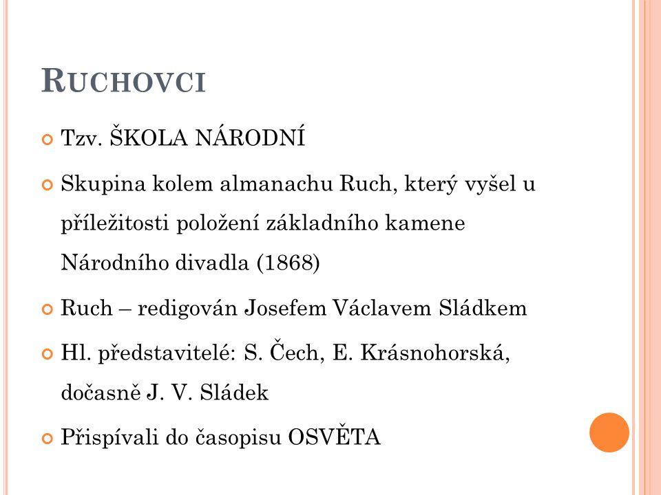 R UCHOVCI Tzv.